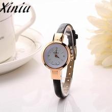 Xiniu Watch 2016 Fashion Women Lady Round Quartz Analog Bracelet Wristwatch Watch Gift women watches