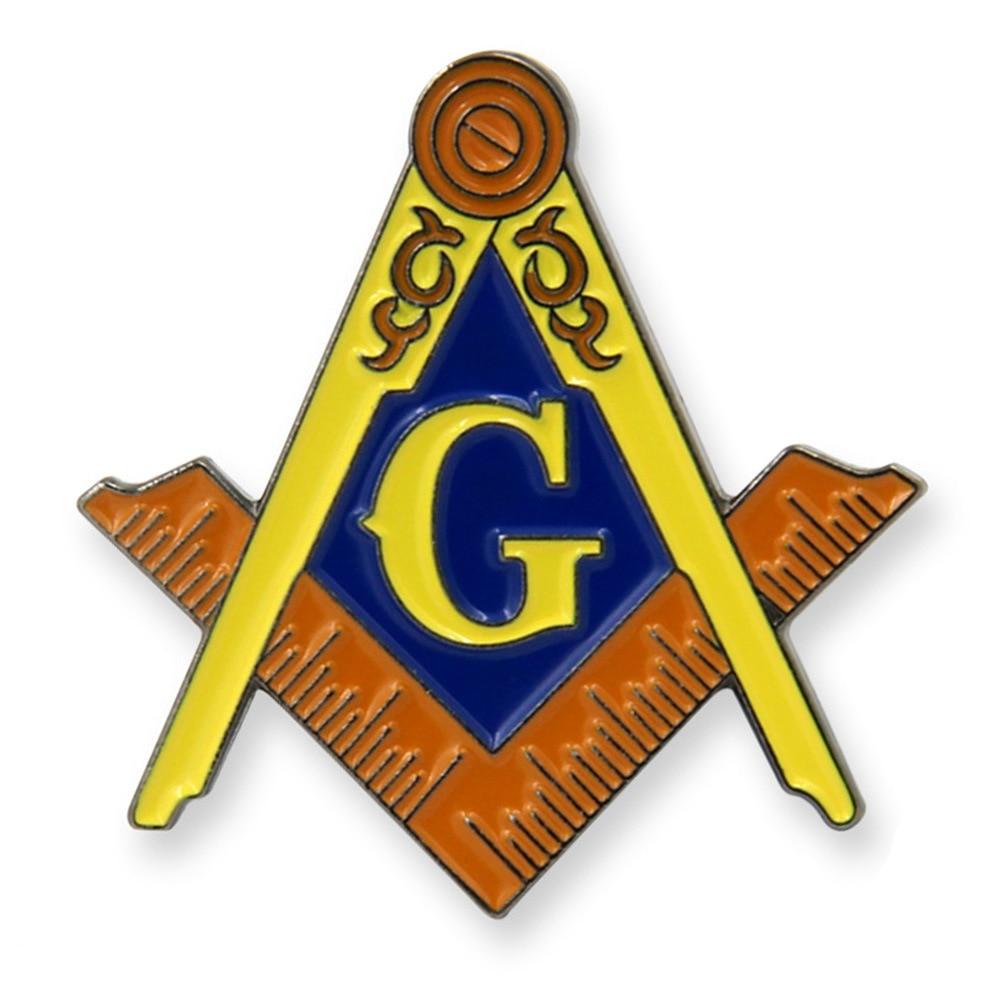 Custom Metal Masonic Enamel Badge cheap OEM masonic lapel pin hot sales badges