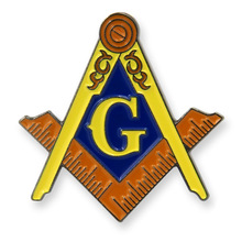 Custom Metal Masonic Enamel Badge cheap OEM masonic lapel pin hot sales badges