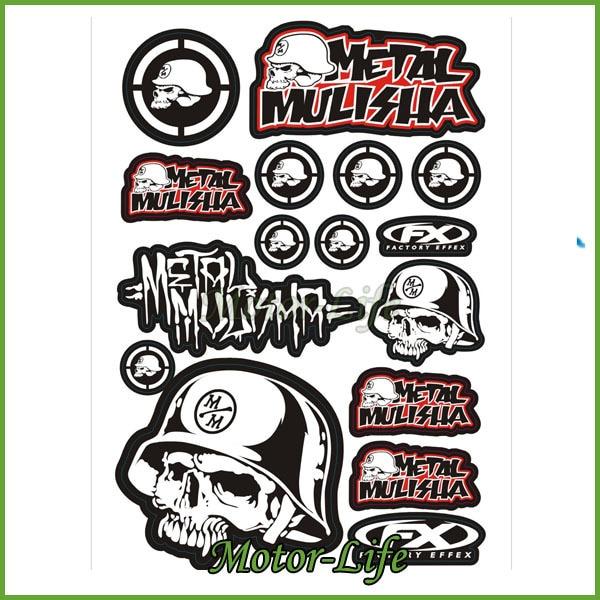 Sticker Design For Motorcycle >> Motorcycle Sticker Design Decal Motorbike Pit Dirt Bike Atv Quad In