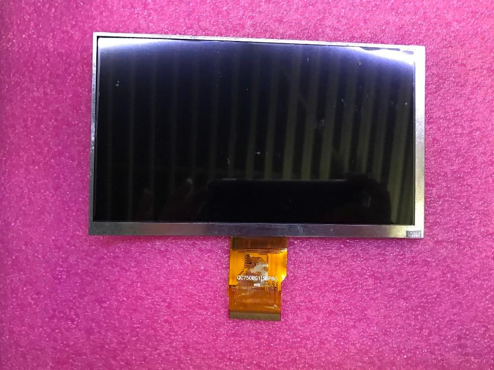 New original QC750BG1(50PIN) QC750BG LCD Display screen new original filter f150 02 bg