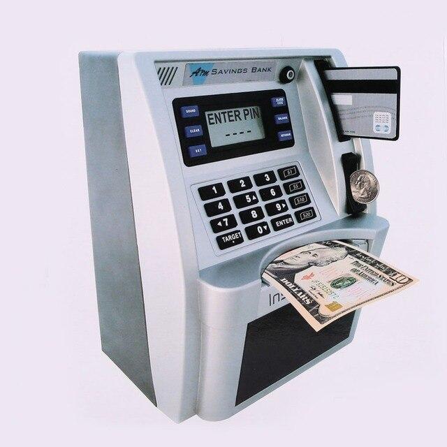Simulación Banco de Ahorro ATM pantalla LCD para niños 3