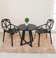 Modern Minimalist Casual Coffee Table Round Table Small Size Table Talk Table Desk Reception Desk