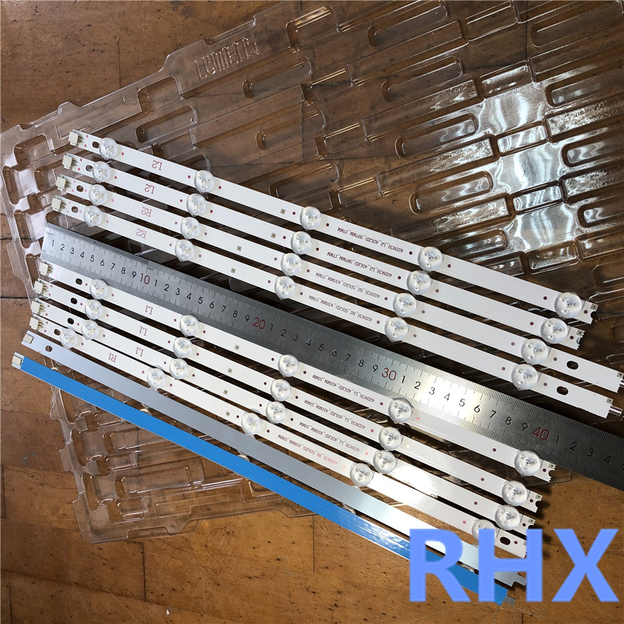 10piece/lot  FOR  LG LC420DUE-SFR1 LED Backlight Strips 42LN5300 42LN5400 42LN5700 (NEW)  R1+L1=824MM   100%NEW