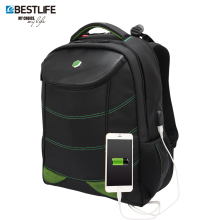 BESTLIFE Multifunction USB Charging Men Backpack Travel Laptop School Bags For Teenagers Carbon fiber Game bag mochila masculina