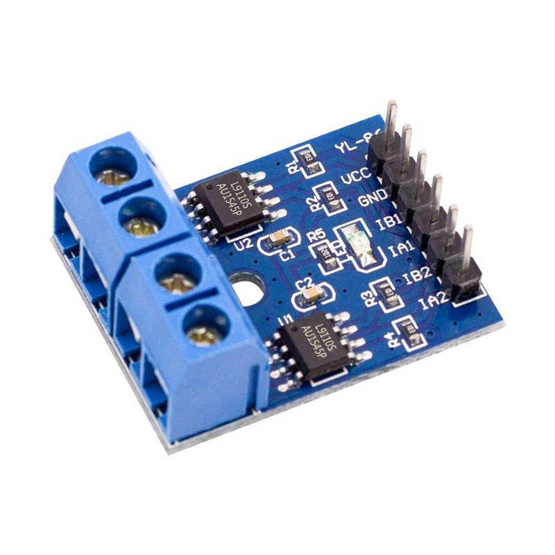 2 piezas L9110S H-Puente Motor paso a paso Dual DC Motor paso a paso controlador módulo placa L9110S L9110 para Arduino