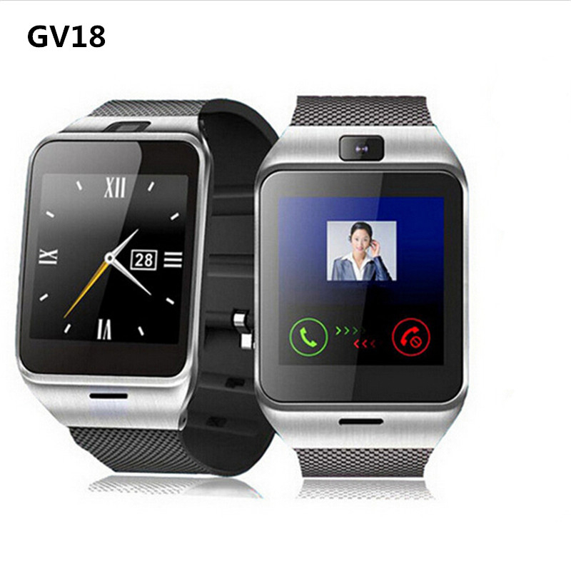 Smart Watch Aplus GV18 Clock Sync Notifier Support Sim Card Bluetooth Connectivi