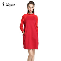 High Quality Real Shot In Spring And Summer 2016 New Female Dress Fat MM Loose Big