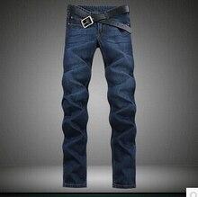 Хорошее качество Бесплатная доставка 2016 новый большой размер extended edition 120 см мужская Стройная длинный ноги джинсы размер 28-44 Дешевые оптовая