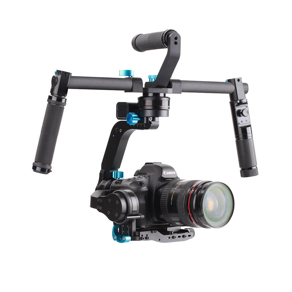 Mivitar Wondlan Skywalker SK02 32-bit Controller 3-Axis Gimbal Stabilizer with Dual Hand Grip Remote Control for DSLR Camera нагреватель beauty image нагреватель аппликатор для кассет 1 шт
