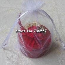 Органза упаковка Evenlopes 100 шт/партия Классический 17x23 см белый подарок переплет сумки офисная органза упаковка Evenlope