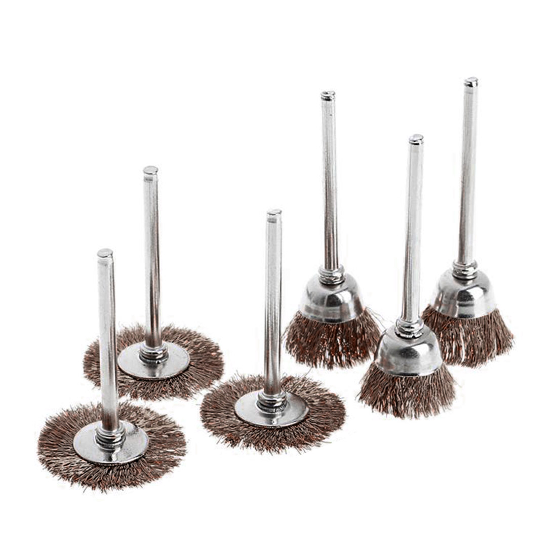 Hand Tools Mini Brass Brush Wire Wheel Brushes Die Grinder Rotary Electric Tool
