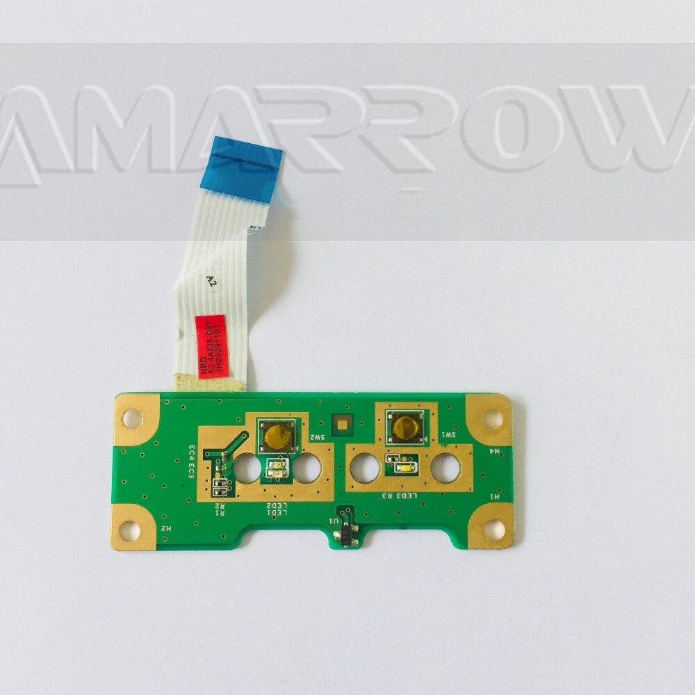 FÜr Hp Compaq G60 G50 Presario Cq50 Cq60 Power Button Board Mit Kabel 48.4h503.011 Komplette Artikelauswahl