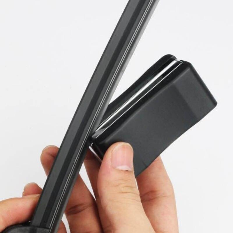 ABS железная щетка стеклоочистителя для автомобиля инструмент для полировки царапин лобовое стекло практичный универсальный инструмент для ремонта царапин ремонт