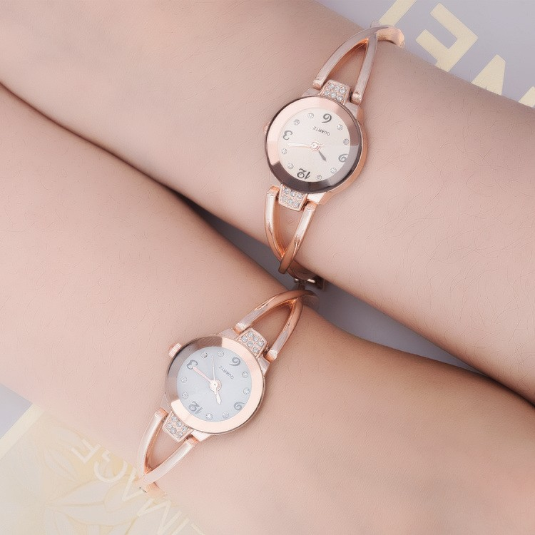 New brand Rose Gold Bracelet Watches Women Top Luxury Brand Ladies Quartz Watch Famous Clock Relogio Feminino Montre Femme Hodin fashion rose gold retro watches women top luxury brand ladies quartz watch famous watch new clock relogio feminino hodinky xfcs