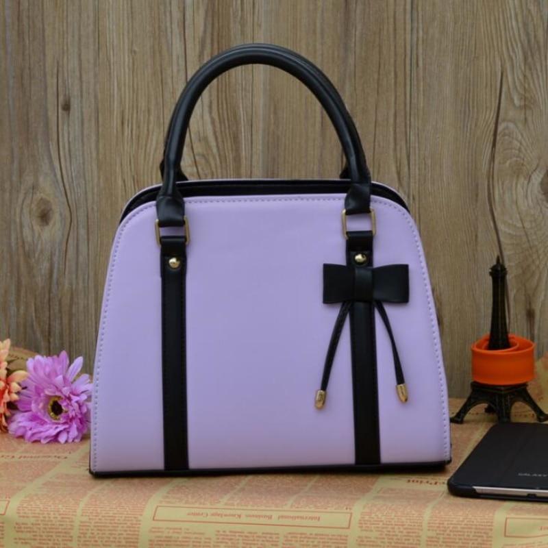 FGJLLOGJGSO Brand Casual leather Female handbag bowknot shoulder bag crossbody bags for women messenger bag Lady bolsa feminina