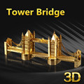 The Tower Bridge of London 3D Metal Puzzle Laser Cut DIY Assembling Building Model Toy Educational Kids Toys For Children