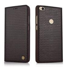 Wobiloo новый роскошный ручной натуральная кожа телефон сумка для Xiaomi Max2 Max II флип чехол для Xiaomi Max 2 6.44 Чехол