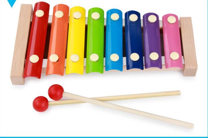 Let's make Baby Toys Wooden Octave Piano Learning Education Montessori Toys Baby Birthday Present Baby Gifts Wooden Toys Blocks montessori baby toys multicolor wooden stick digital blocks education wooden toys early learning