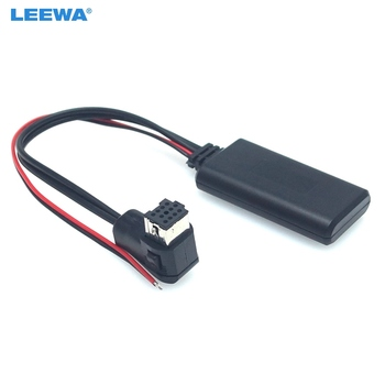 LEEWA 15X Car Aux Audio Bluetooth Receiver Adapter For Pioneer P99 P01 Auto Stereo Aux Radio Module Bluetooth Cable #CA6071