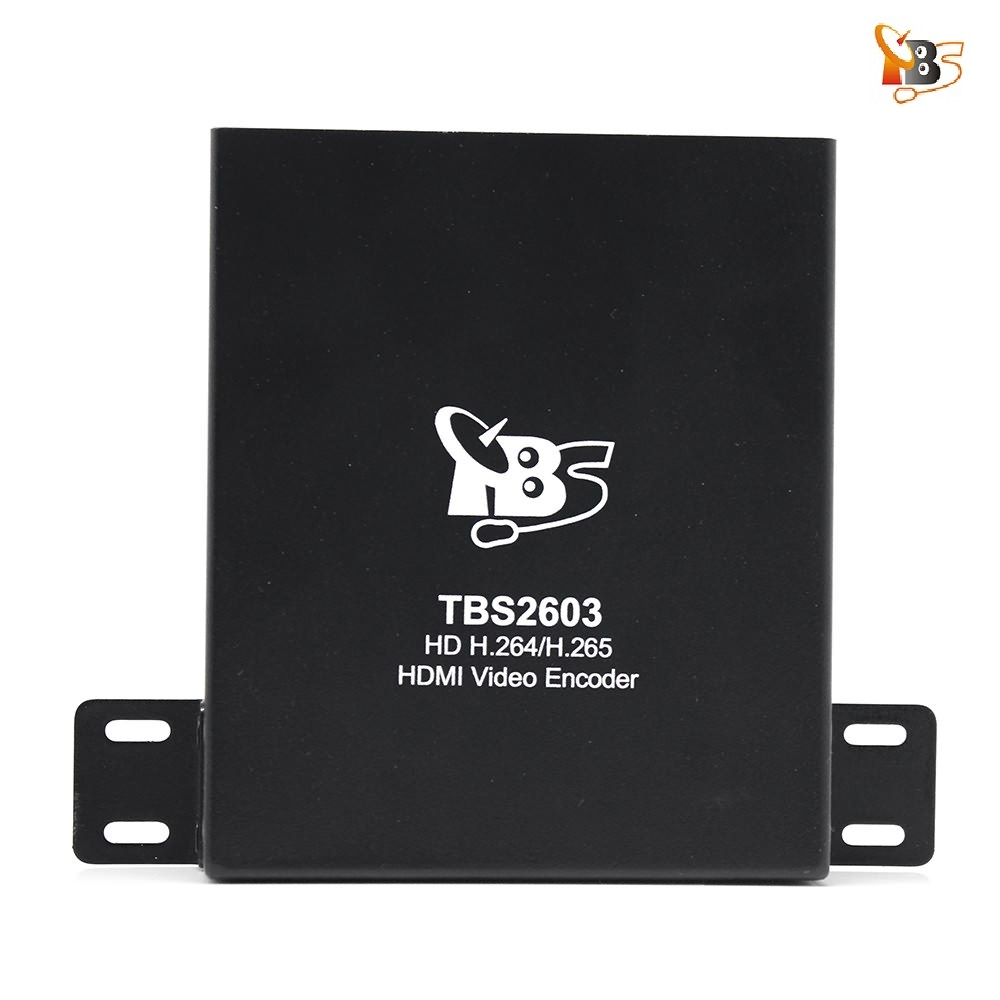 Prix pour 20% off! Hot Deals TBS2603 HD H.264/H.265 HDMI Matériel Vidéo Codeur Soutenir HDMI entrée pour IP TV H.265 Diffusion En Direct
