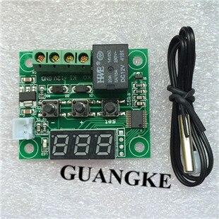 1 шт. W1209 DC 12 В тепла круто Температура Переключатель регулирования температуры Термостат Регулятор температуры термометр термо контроллер