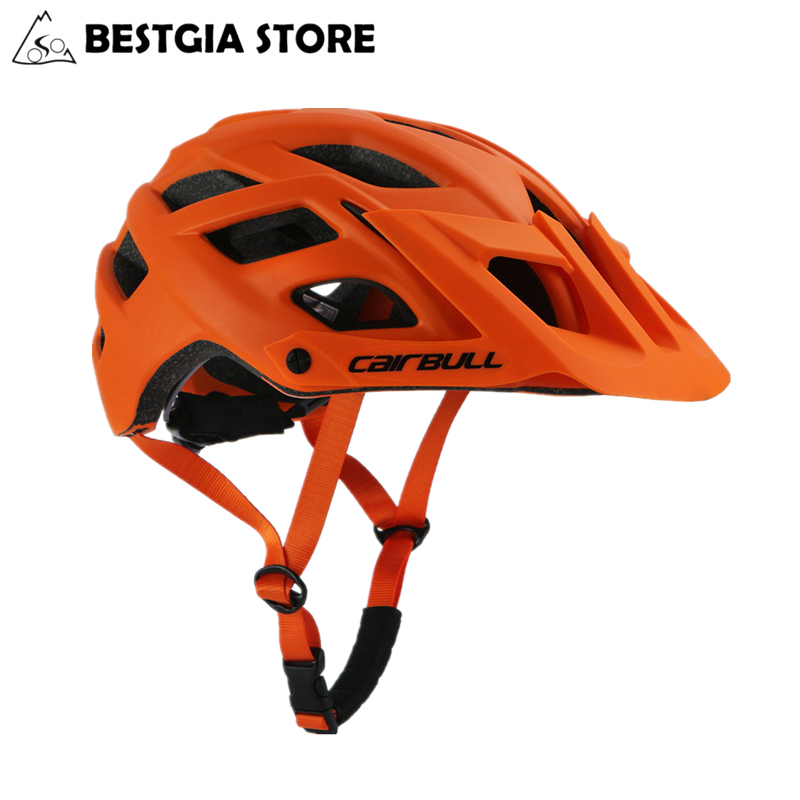 2018 New Cairbull Cycling Helmet TRAIL XC Bicycle Helmet In-mold MTB Bike Helmet Casco Ciclismo Road Mountain Helmets Safety Cap(China)