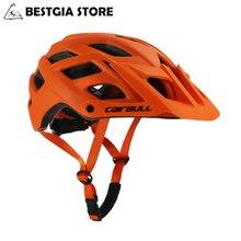 2018 nuovo Helmet bull Casco da Ciclismo TRAIL XC Casco da bicicletta In mold MTB Casco da bici Casco Ciclismo Road Mountain caschi cappuccio di sicurezza