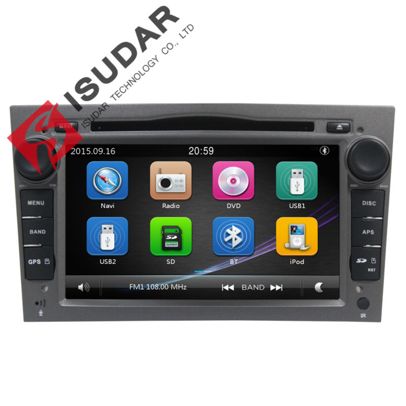 Capacitive Screen 2 Din 7 Inch font b Car b font DVD Player For Vauxhall Opel