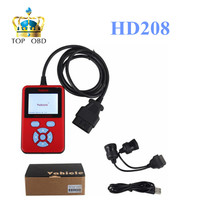 2017 Newest HD208 Heavy Duty Truck Code Reader Handheld HD 208 Code Reader Scanner for Heavy Duty truck Free Shipping