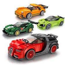 2019 City Sport Car Compatible legOINGLY Speed Champions Supercar Racing Car Model Building Blocks Bricks child Kids Toys Gift