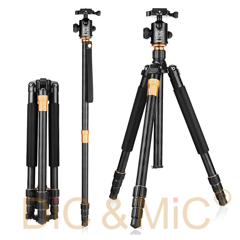 Prix pour QZSD Q999 pro Professionnel Trépied Manfrotto pour DSLR caméra Q-999 Photographique Portable Trépied Avec Panoramique Joby