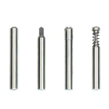 Твердосплавные Режущие сверла для ключей Mult-t с замком, режущие головки, торцевые фрезы для ключей, слесарные инструменты, сверла, 4 шт./лот