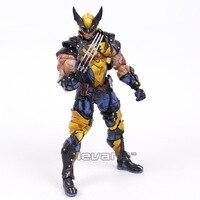 Play Arts Kai X mannen Logan PVC Action Figure Collectible Model Speelgoed 26 cm