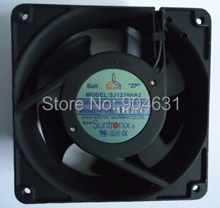 SANJUN SANJU SJ1238HA1 AC110V Axial Flow Fan Ball Bearing Plastic Impeller Made In Taiwan