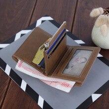 Small men wallet Designer Leather card