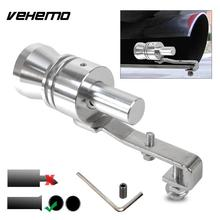 Vehemo S/M/L/XL Exhaust Muffler Pipe Whistle Best Gifts Turbo Whistle Universal Sound Whistle Automobile