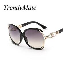 12c931df45c 2017 Nuevo vintage perla Gafas de sol mujeres oculos de sol feminino moda  gradiente Sol cristal mujeres marca diseñador Sol Gafa.