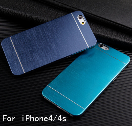 With LOGO Metal Back Shell Case...
