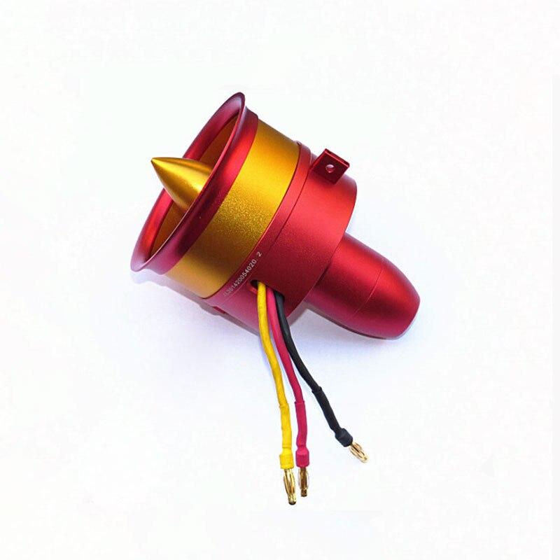 Offre spéciale métal JP/GP 70mm conduit ventilateur EDF Jet 12 lames 2 s-6 s Lipo moteur électrique pour RC avion modèle accessoires pièces
