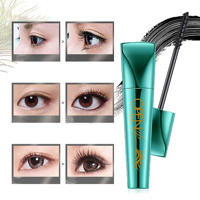 3d Fiber Lashes Ink Gel Mascara Long Lasting Waterproof Eyelash