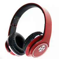Smart Bluetooth headphones Headband style fold support NFC TF card HIFI stereo noise cancelling bass speaker FM multi function