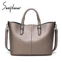 Fashion Designer Shoulder Bags Large Capacity Tote Bag Women Handbags Female PU Leather Handbag Portable Ladies
