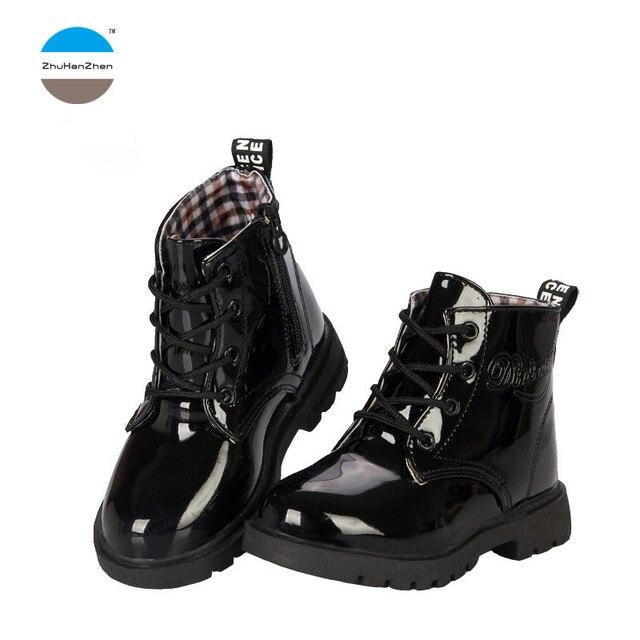ce13539e0 2018 botas de Moda de Primavera para niños de 1 a 11 años de edad ...