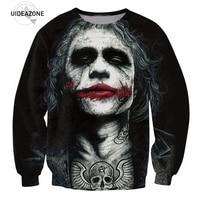 YNM Inked Joker Sweatshirt Badass Tattooed Joker Dark Knight 3d Sweats Women Men Batman DC Comics