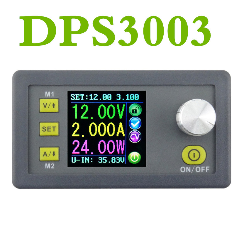 DPS3003 voltmeter Ammeter Constant Voltage current Step-down programmable control supply power module DP30V3AUpgraded version10% 5pcs zxy6005s upgraded version zxy6005 constant voltage current power supply module with heat sink voltmeter ammeter 60v 5a