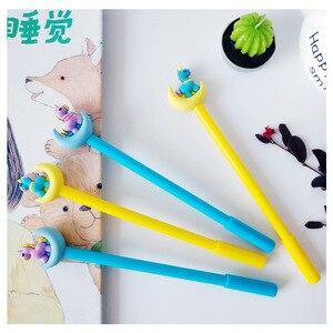 Image 5 - 30pcs Moon Unicorn Gel Pen Korean Cartoon Office School Writing Pens for Student Stationery Moon Neutral Pen Wholesale Gifts