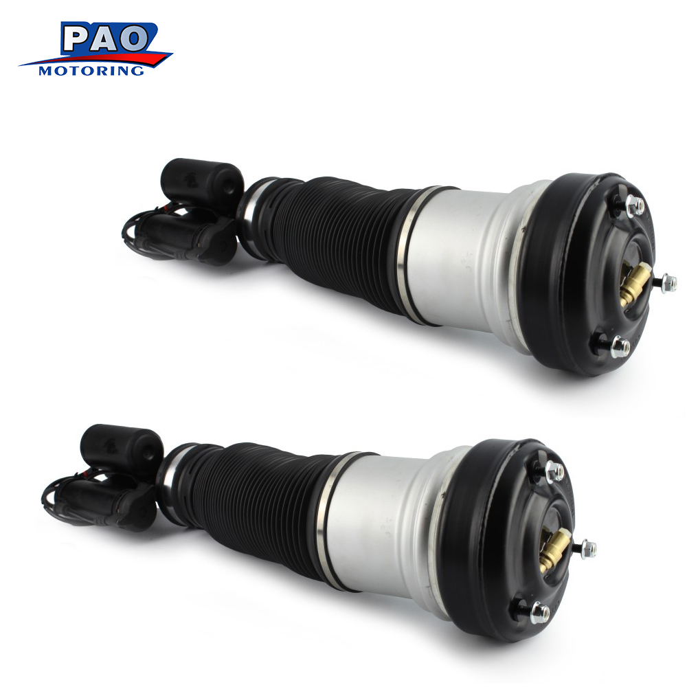 For Mercedes <font><b>Benz</b></font> S430 <font><b>S500</b></font> <font><b>W220</b></font> Pair Front Left and Right Air Suspension Air Strut Shock OEM 2203202238 2203202138 Brand New image