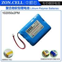 shenzhen technology 104050 3.7v lithium polymer battery 3 7V volt li po ion lipo rechargeable batteries for Portable equipment