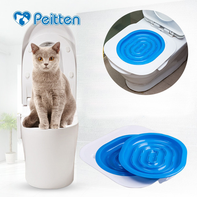 40*40*3.5cm High Quality ABS Pet Toilet Trainer Puppy Cat Toilet Litter Trainer catsCeaningTrainingToilet Supplies Dropshippong